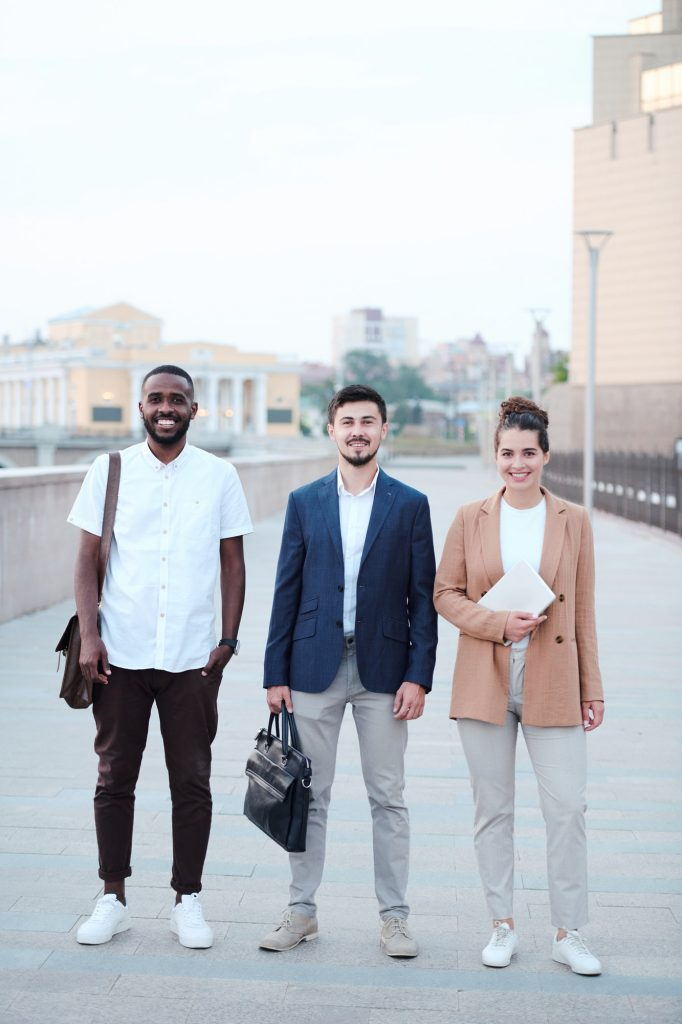Business school students
